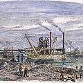 Suez Canal Construction by Granger