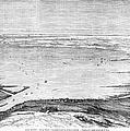 Suez Canal: Lake, 1869 by Granger