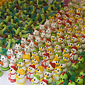 Sugar Figurines For Sale At The Day by Krista Rossow