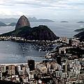 Sugarloaf Mountain Brasil by Salty Elbows