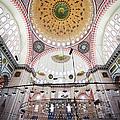 Suleymaniye Mosque Interior by Artur Bogacki