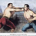 Sullivan & Kilrain Fight by Granger
