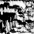 Sumi-e 120726-3 by Aquira Kusume