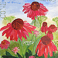 Summer Coneflowers by Sandy McIntire