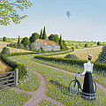 Summer Cycling by Peter Szumowski