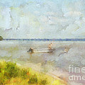 Summer Days At The Lake by Anne Kitzman