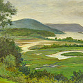 Summer Morning Hudson Highlands by Phyllis Tarlow