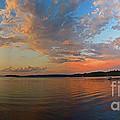 Summer Night At Sebago Lake by Lloyd Alexander