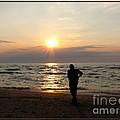 Summer Sunset Solitude by Rose Santuci-Sofranko