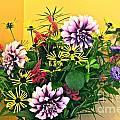 Summer To Autumn Bouquet by Byron Varvarigos