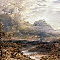 Sun Behind Clouds by John Linnell