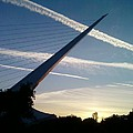 Sun Dial Bridge by Jan Robertson