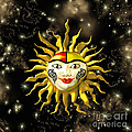 Sun Face  by Methune Hively