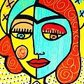 Sun Praying Angel by Sandra Silberzweig