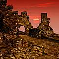 Sun Set Castle by Nigel Hatton