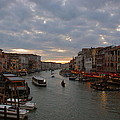 Sun Sets Over Venice by Eric Tressler