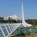 Sundial Bridge - Sit And Watch How Time Passes By by Christine Till