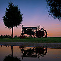 Sundown On Farmall At Chippokes by Williams-Cairns Photography LLC