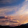Sundown On The Sierras by Joe Schofield