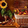 Sunflower - Still Life by Boris Suntsov