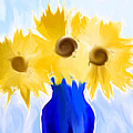 Sunflower Fantasy Still Life by Heidi Smith
