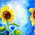 Sunflowers by Art by Carol May