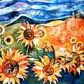 Sunflowers by Sandra Kern