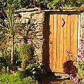 Sunlit Doorway by Peter Jenkins