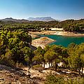 Sunny Day In El Chorro. Spain by Jenny Rainbow