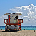 Sunny Day Miami Beach by Eric Tressler