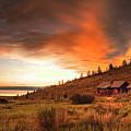 Sunrise At Bear Lake by Charlene Heslop