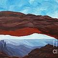 Sunrise At Mesa Arch by Estephy Sabin Figueroa