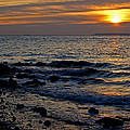 Sunrise At Mt Loretto Beach by Nancy De Flon