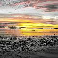 Sunrise At Sea 2 by Sumit Mehndiratta