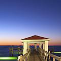 Sunrise At The Texas Gulf Coast by Andre Babiak