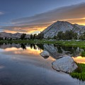 Sunrise At Upper Young Lake by by Sathish Jothikumar