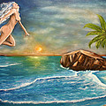 Sunrise Goddess by Walter Laing