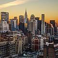 Sunrise In The City II by Janet Fikar
