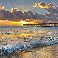 Sunrise Lights by Debra and Dave Vanderlaan