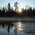 Sunrise On Ice by Kent Lorentzen