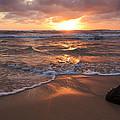 Sunrise On Kauai Coast by Artistic Photos