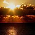 Sunrise On Sea 1 by Sumit Mehndiratta