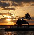 Sunrise Over Bay by Clara Sue Beym