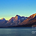 Sunrise Over Jackson Lake by Robert Bales