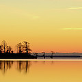 Sunrise Over Lake by Patti White Photography