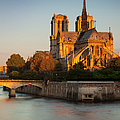 Sunrise Over Notre Dame by Brian Jannsen