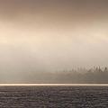 Sunrise Over Saint Johns River In New Brunswick by Victoria Martin