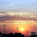 Sunrise Over The Shopping Mall by Yumi Johnson