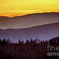 Sunrise Ridges by Arne Hansen
