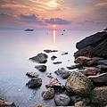 Sunrise To Théoule Sur Mer by © Yannick Lefevre - Photography